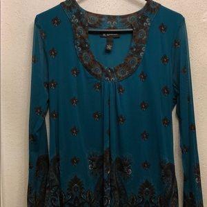 NWT INC blouse Size L